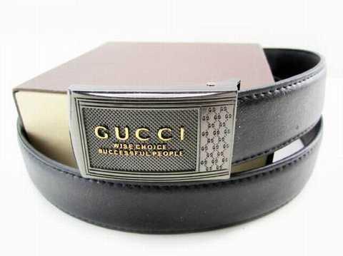 d8d5d3ba8e4 Ceinture Gucci Homme Noir